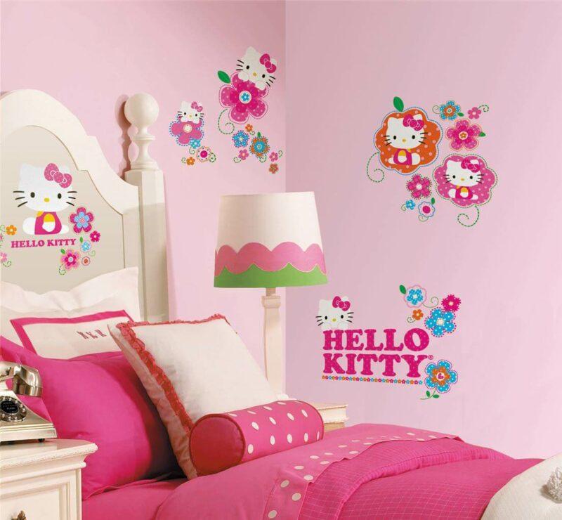 Contoh Dekor Kamar Hello Kitty 3