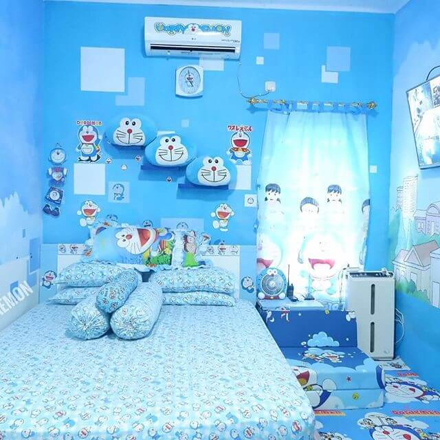 Contoh Dekor Kamar Doraemon 1