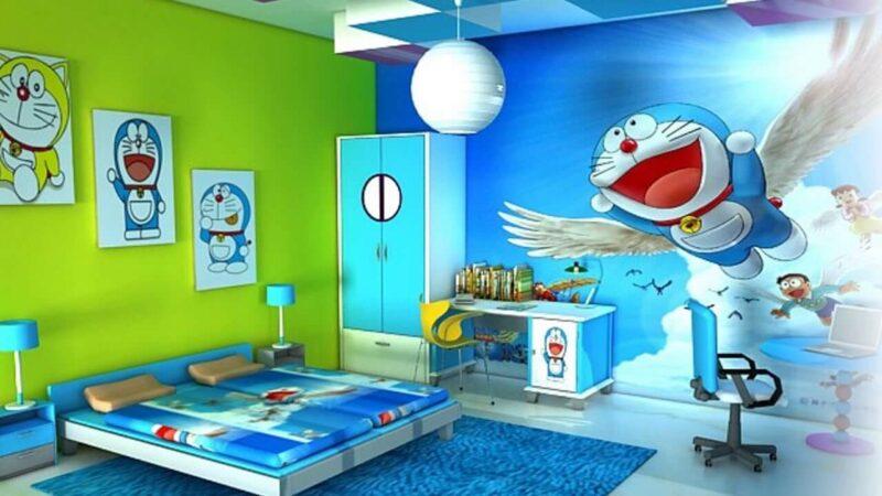 Dekorasi Kamar Tidur Doraemon Unik
