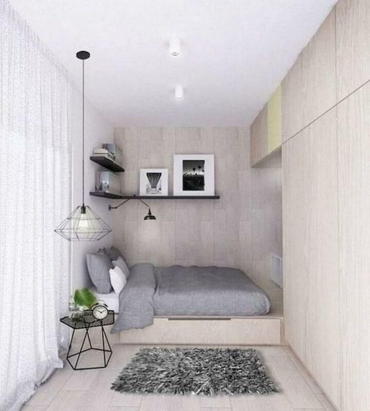 Contoh Dekorasi Kamar Tidur Minimalis Unik