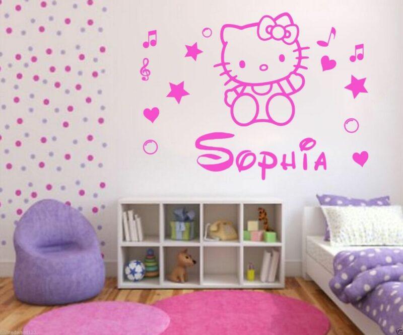 Contoh Dekor Kamar Hello Kitty 2