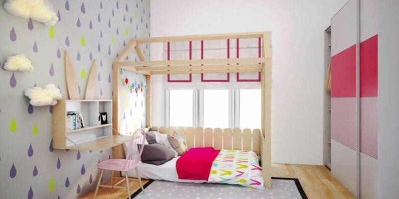Dekorasi Kamar Tidur Anak Perempuan UnikDekorasi Kamar Tidur Anak Perempuan Unik