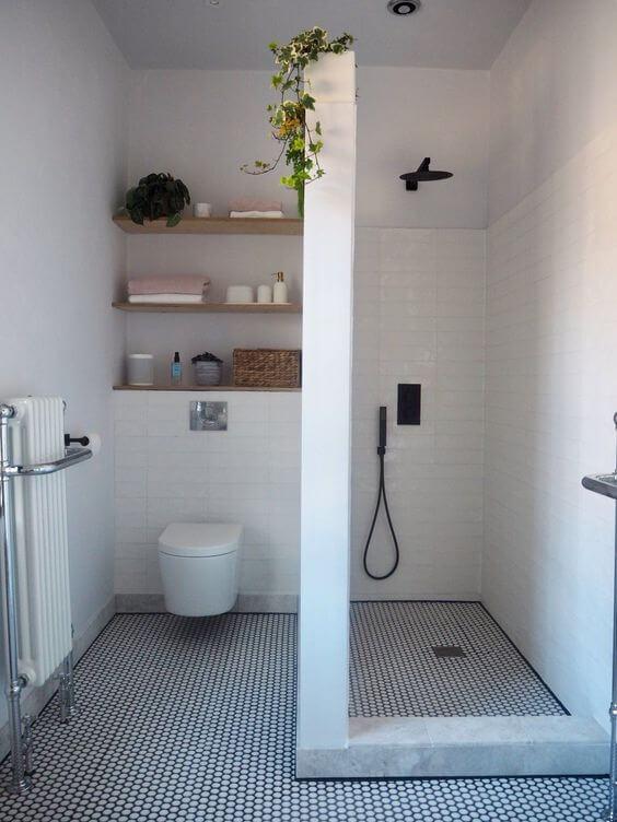 Desain kamar mandi ukuran 1x1 modern