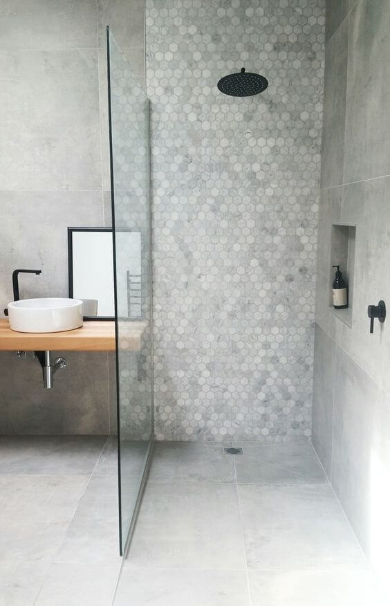 Desain kamar mandi minimalis modern