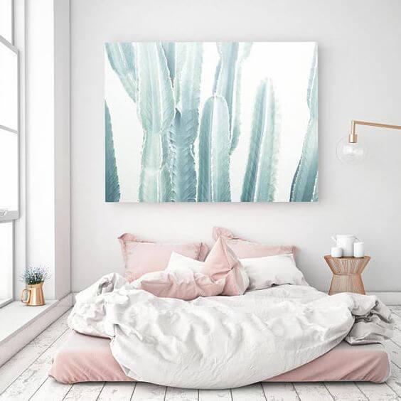 Contoh Gambar Desain Kamar Tidur Minimalis Ukuran 3x4 Menggunakan Kasur Lantai