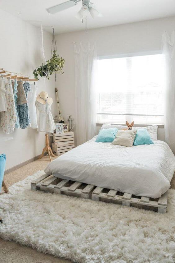 Ide Desain dan Dekorasi Kamar Tidur Minimalis Ukuran 3x4 Sederhana