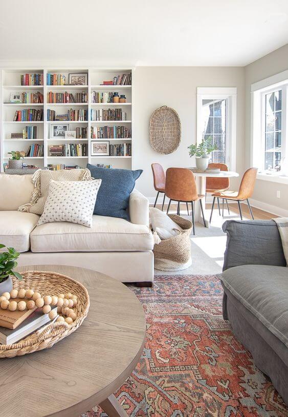 Ide Dekorasi Ruang Keluarga/kumpul bersama Rumah Kontrakan