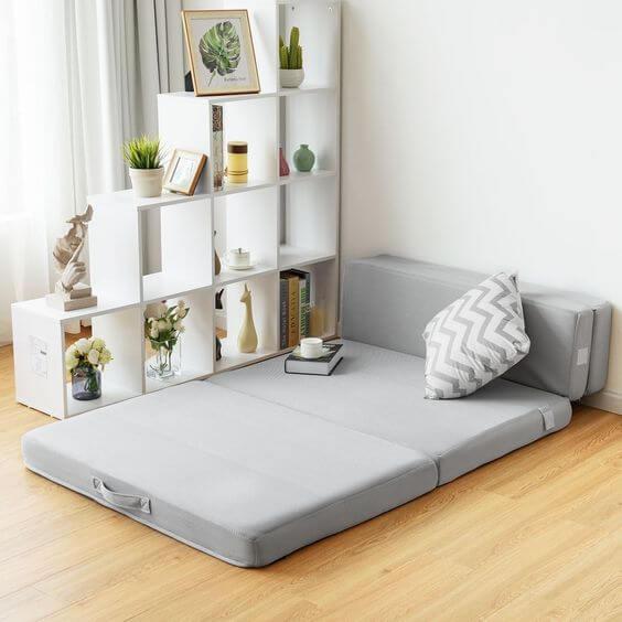 Model dan Desain Kamar Tidur Minimalis Ukuran 3x4 Menggunakan Kasur Lantai