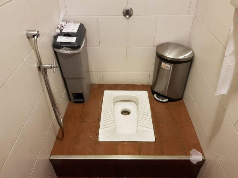 Kamar mandi minimalis kloset jongkok