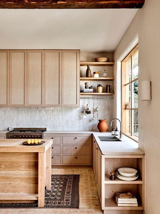 Dapur Sederhana dan Unik