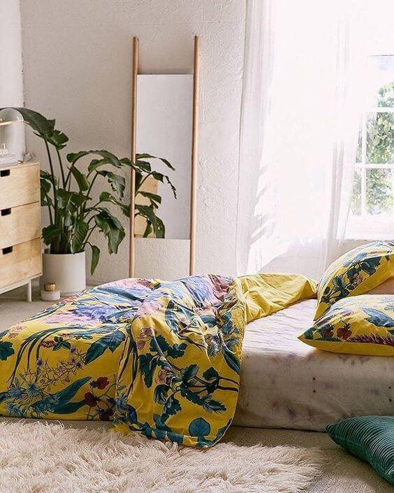Inspirasi Desain Kamar Tidur Minimalis Ukuran 3x4 Menggunakan Kasur Lantai