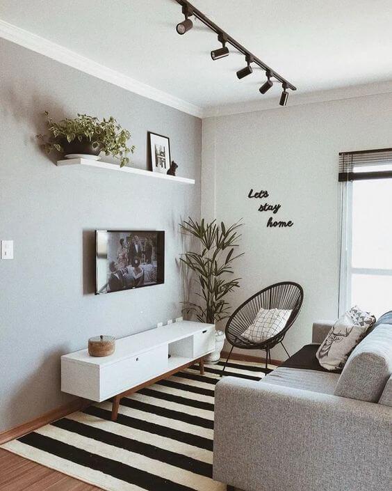 Contoh Desain Ruang Keluarga Minimalis, Sederhana, Terbuka, & Unik
