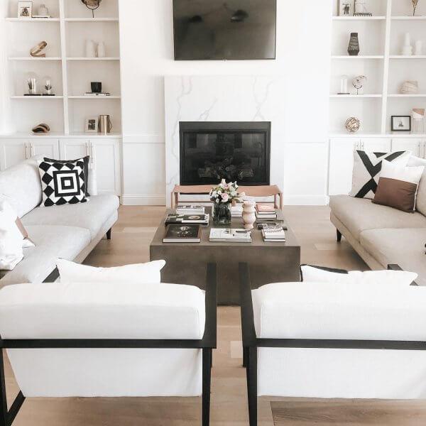 Inspirasi Dekorasi Rumah Minimalis bagian Ruang Keluarga