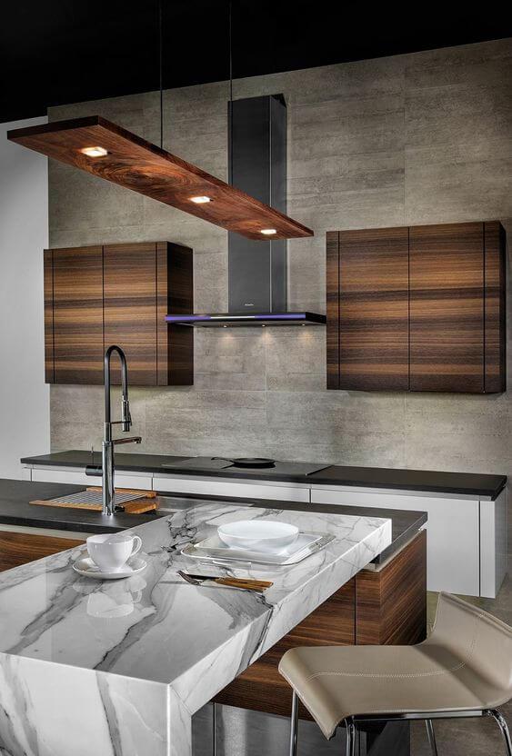 Model Dapur dengan Desain Unik