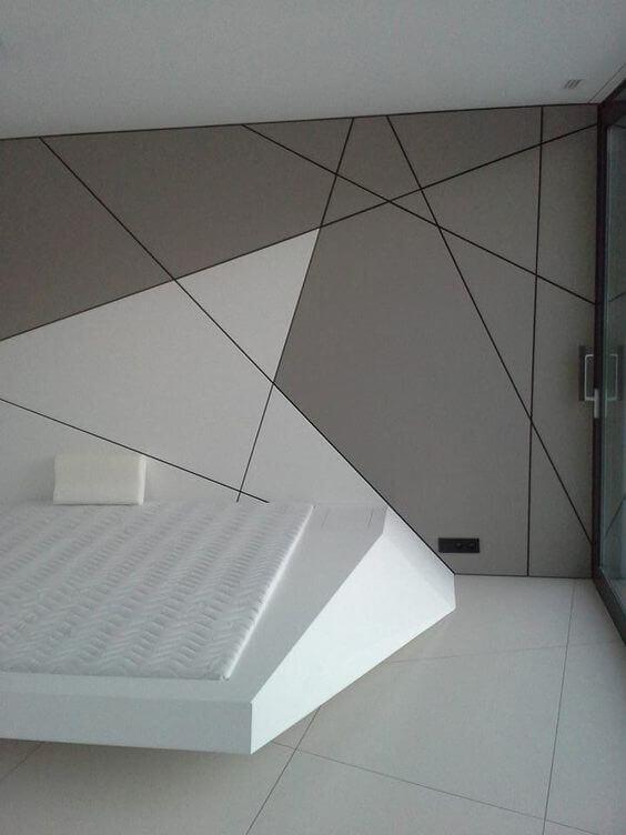Model Tembok Dinding Motif Unik Geometris