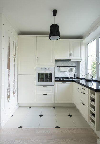 Warna Cat Dapur Minimalis Putih