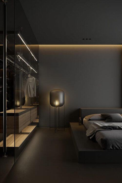 Contoh Model dan Desain Tidur Minimalis Ukuran 3x4 Mewah