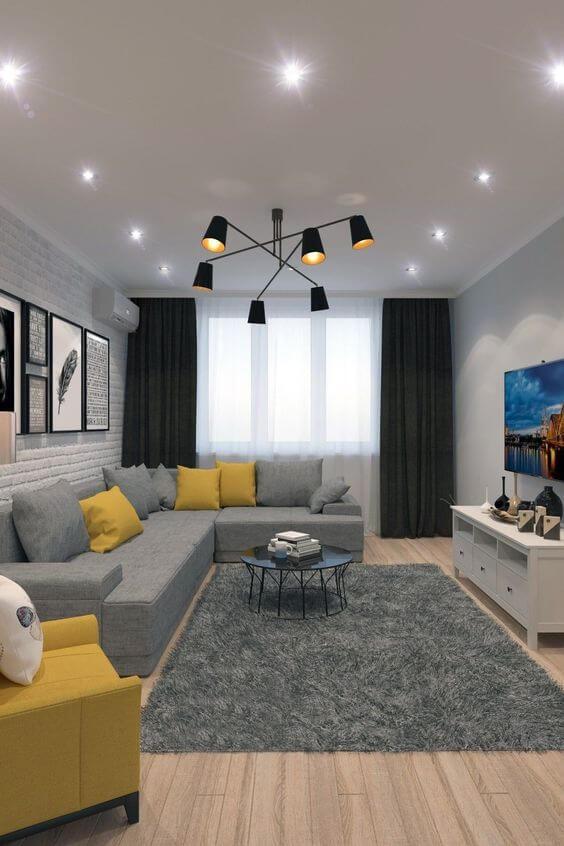 Desain Ruang Keluarga Minimalis Unik