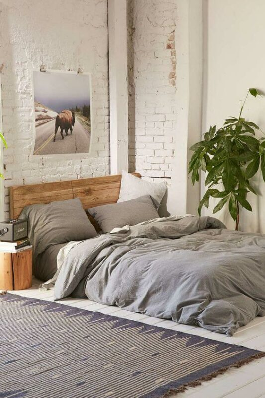 Gambar Desain Kamar Tidur Minimalis Ukuran 3x4 Menggunakan Kasur Lantai