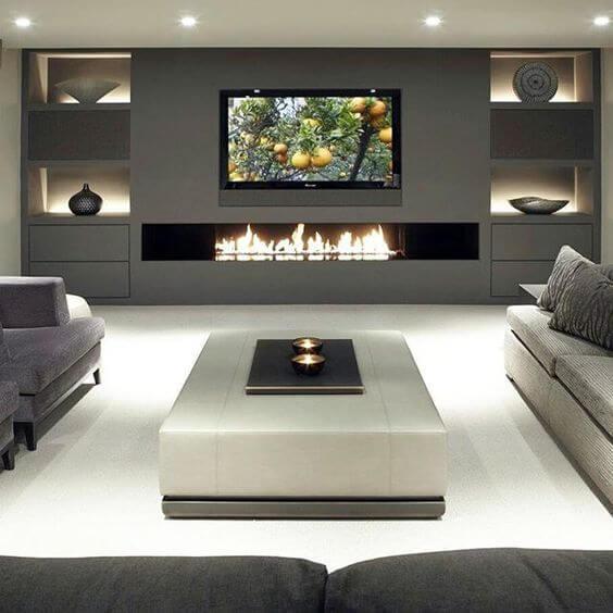 Inspirasi Desain dan Dekorasi Ruang Keluarga Modern Kekinian