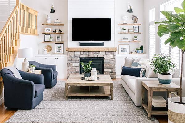 Inspirasi Dekorasi Ruang Keluarga Rumah Sederhana yang Menarik
