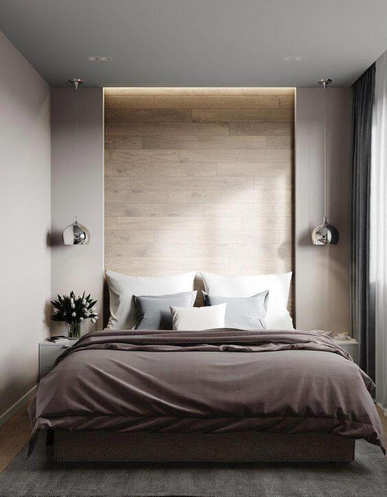 Inspirasi Ide Desain Kamar Tidur Minimalis Model Mewah Modern
