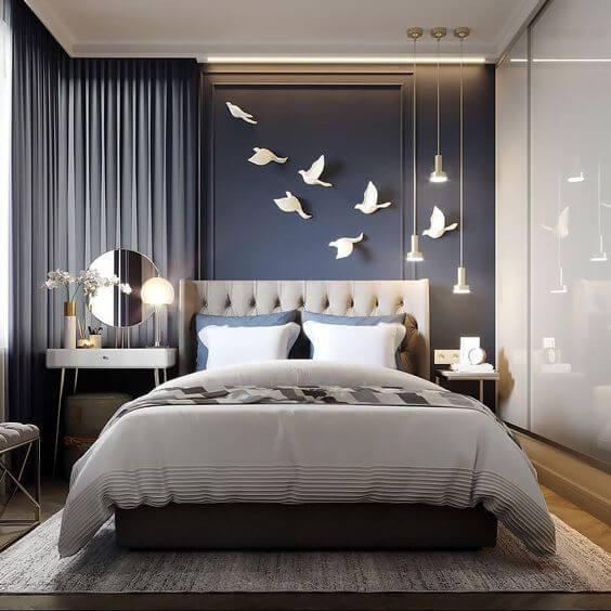 Dekorasi Desain Kamar Tidur Minimalis Ukuran 3x4 Modern