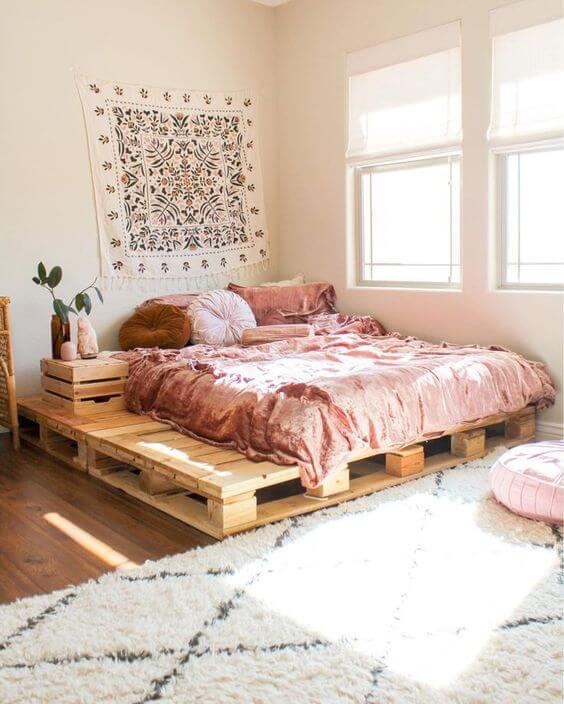 Dekorasi dan Desain Kamar Tidur Minimalis Ukuran 3x4 Sederhana dan Menarik