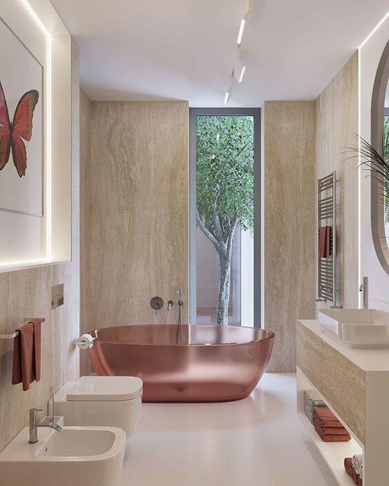 Contoh Desain Kamar Mandi Minimalis Mewah Modern
