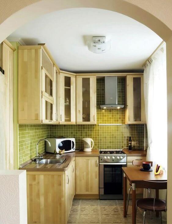 Model Dapur Minimalis Ukuran 2x2 Kekinian