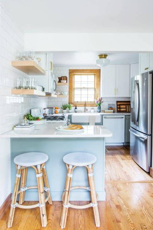 Model Desain Dapur Minimalis Modern Kekinian Unik