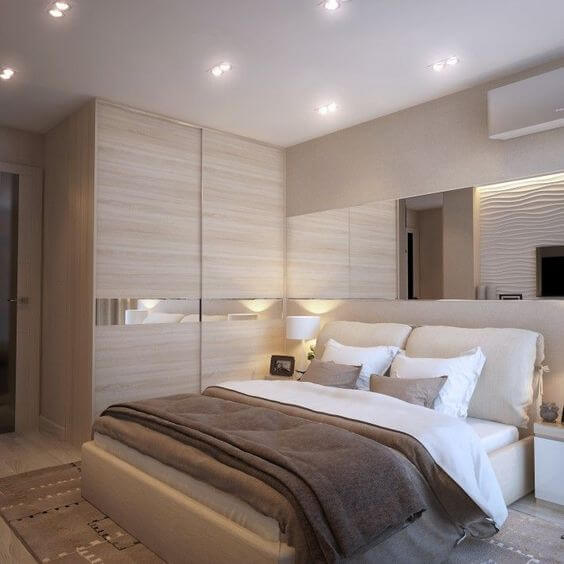 Gambar Desain dan Dekorasi Desain Kamar Tidur Minimalis Ukuran 3x4 Modern