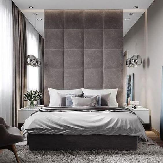 Desain dan dekorasi kamar tidur minimalis ukuran 3x4 mewah