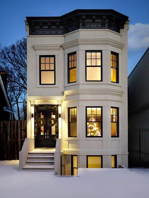 Desain Rumah Minimalis Unik Lantai 1