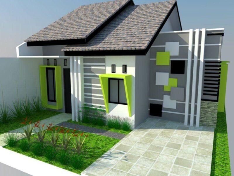 115 Desain Rumah Minimalis Modern Sederhana Kekinian Unik
