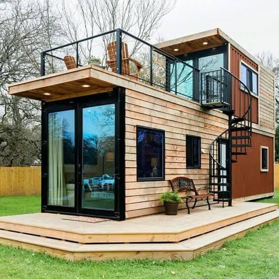 Contoh Model Desain Rumah Minimalis Unik Sekali