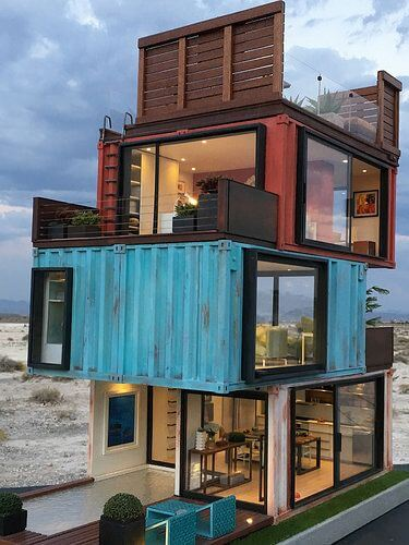 Desain Rumah Minimalis Unik Sekali