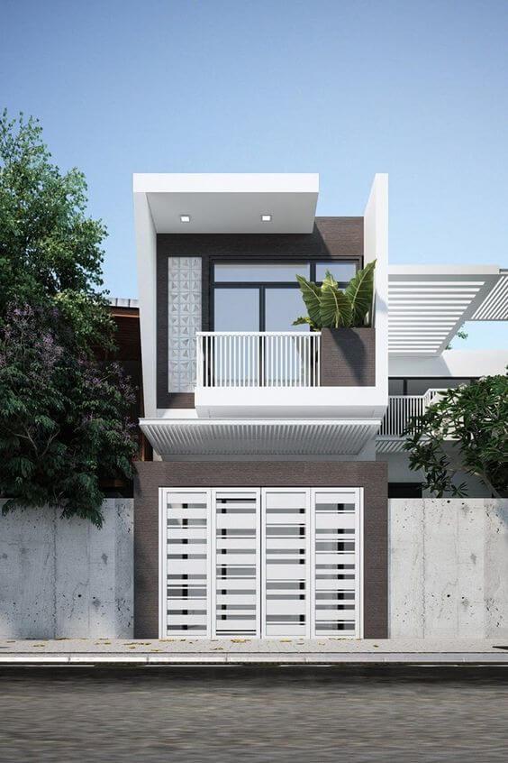 Contoh Model Desain Rumah Minimalis 2 Lantai