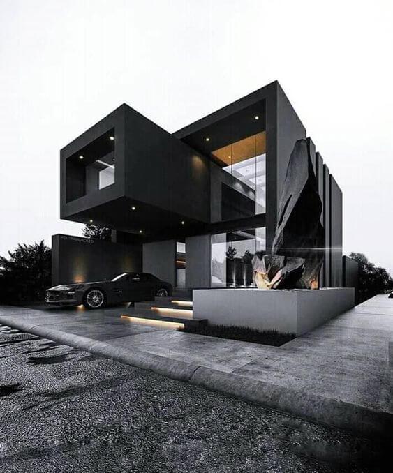 Desain Rumah Minimalis Unik Elegan