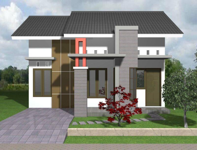 Desain Rumah Minimalis 1 Lantai Kekinian