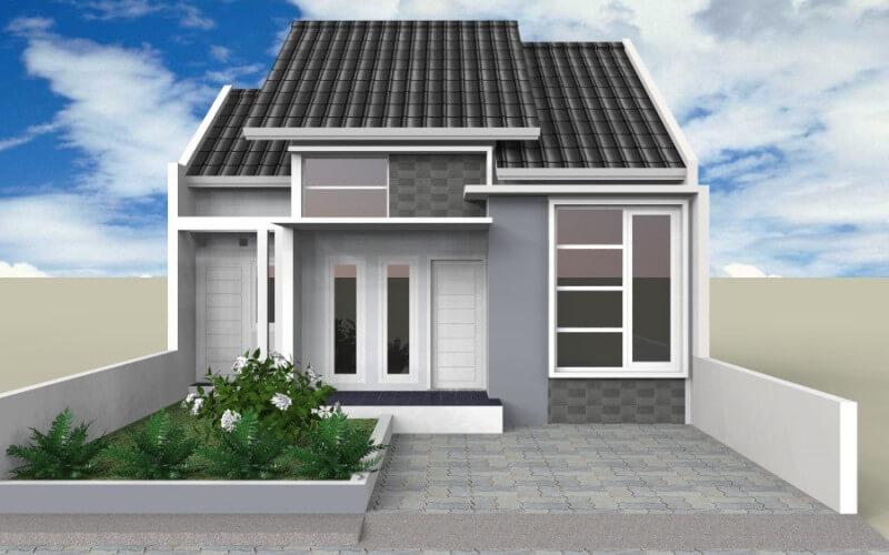 Contoh Model Desain Rumah Minimalis Sederhana Kekinian