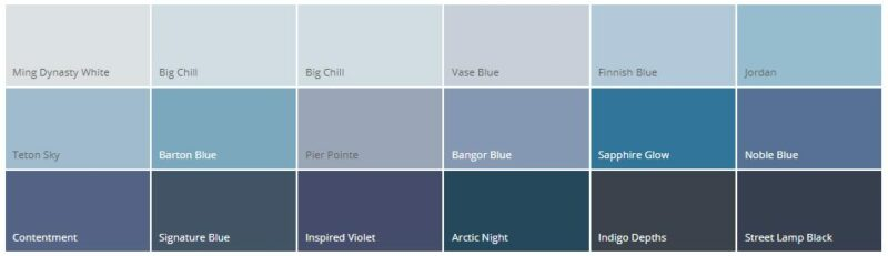 Variasi Warna Cat Rumah Minimalis Dulux Biru Lembut