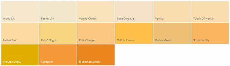 Variasi Warna Cat Rumah Minimalis Dulux Emas