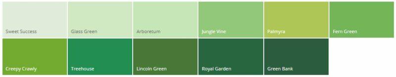 Variasi Warna Cat Rumah Minimalis Dulux Hijau