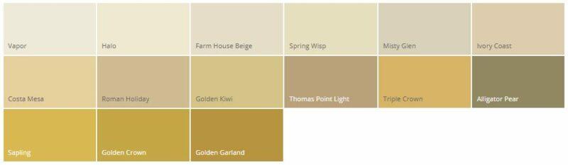 Variasi Warna Cat Rumah Minimalis Dulux Kuning Lembut