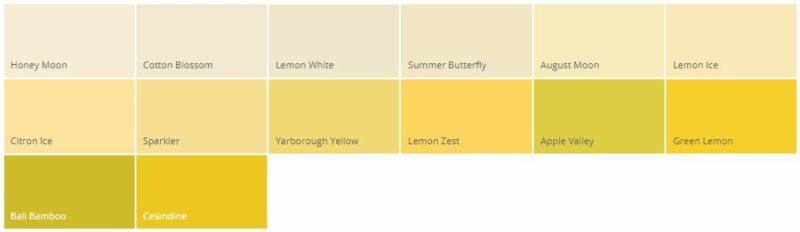 Variasi Warna Cat Rumah Minimalis Dulux Kuning