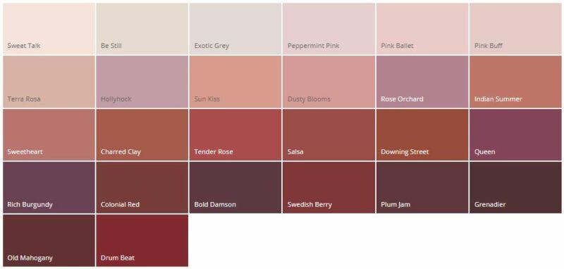 Variasi Warna Cat Rumah Minimalis Dulux Merah Lembut