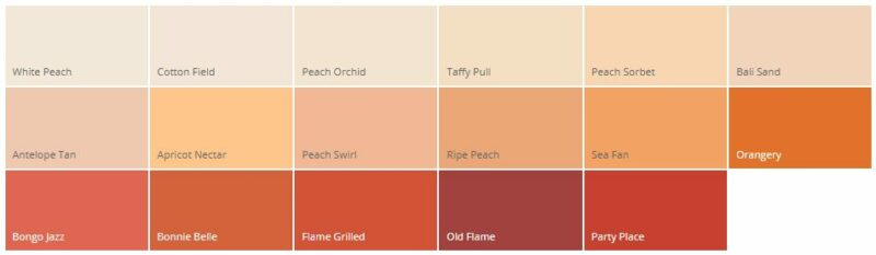 Warna Cat Rumah Minimalis Dulux Orange
