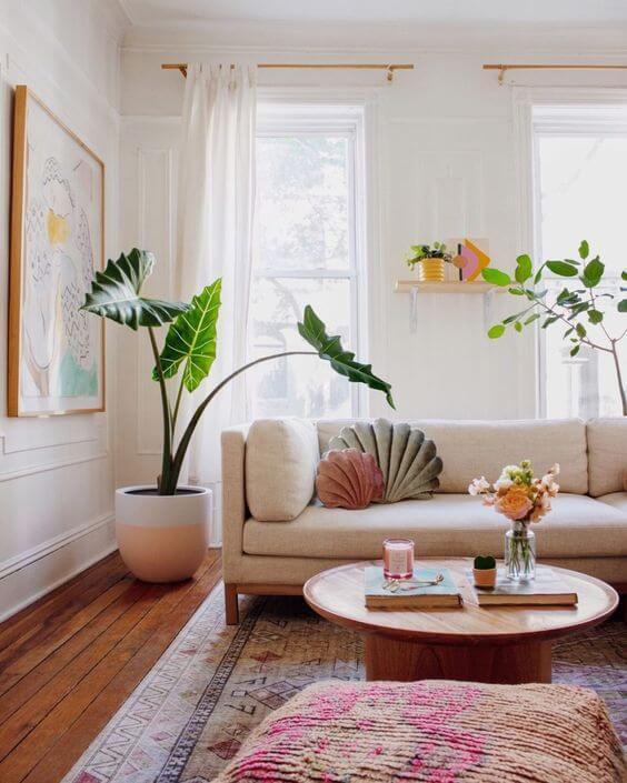 Contoh Desain Ruang Tamu Modern Kekinian yang Unik