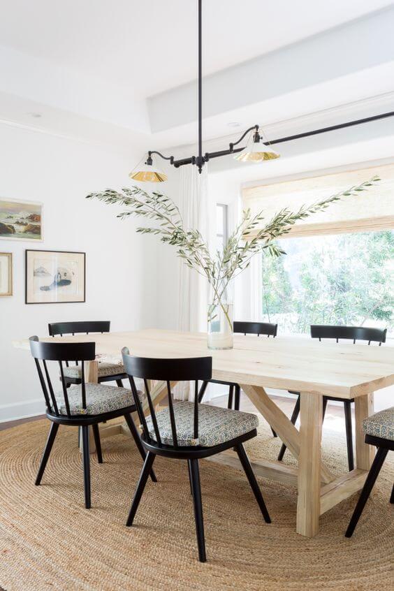 Contoh Desain Ruang Makan di Rumah Minimalis yang Modern.